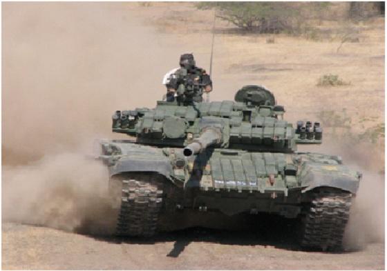 …T-72 trên chiến trường.