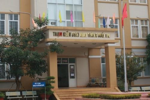 Trạm CSGT Suối Tre, nơi công tác của cả đại úy Ngô Văn Vinh và thiếu tá Trần Ngọc Sơn.