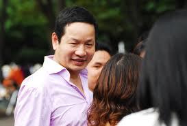Chủ tịch FPT Trương Gia Bình là người luôn rất gần gũi với nhân viên.