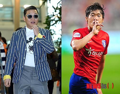 """PSY lợi dụng tình bạn với Park Ji Sung để PR ca khúc """"Gentleman""""?"""