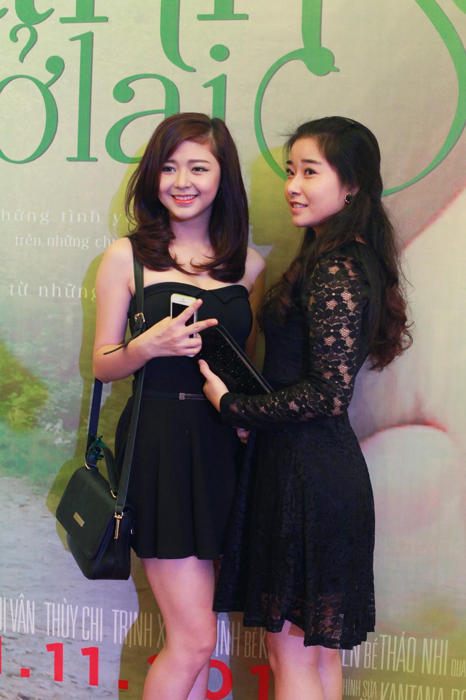 Lưu Khánh Ngọc và Phan Kim Cương.