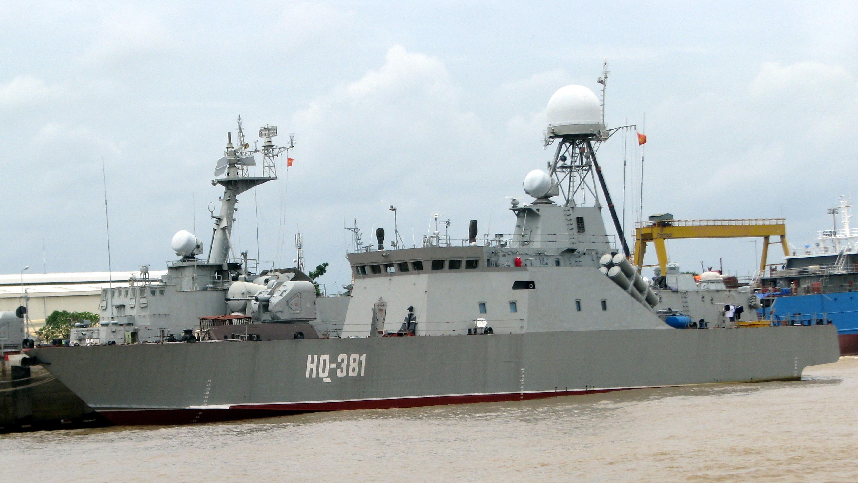 Tàu HQ-381 của Hải quân nhân dân Việt Nam