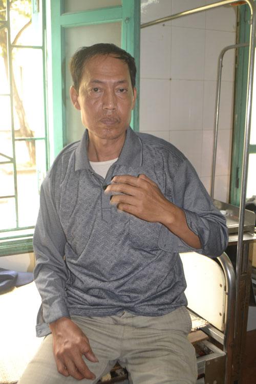 Ông Ngô Doãn Đô kể lại sự việc mình bị hành hung
