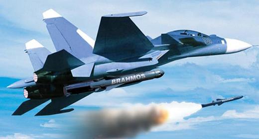 Tên lửa BrahMos của Ấn Độ phóng từ MiG-29
