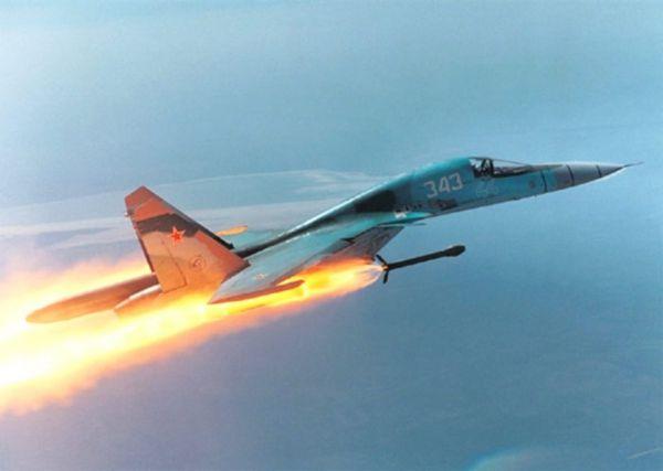 Máy bay cường kích hạng nặng Su-34.