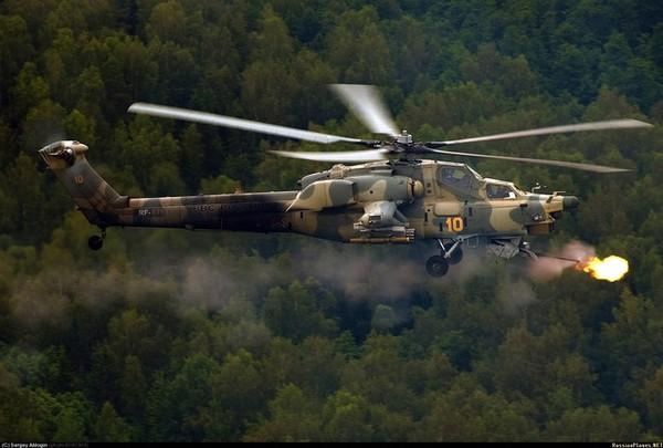 Trực tăng tấn công Mi-28 Havoc của Không quân Nga.