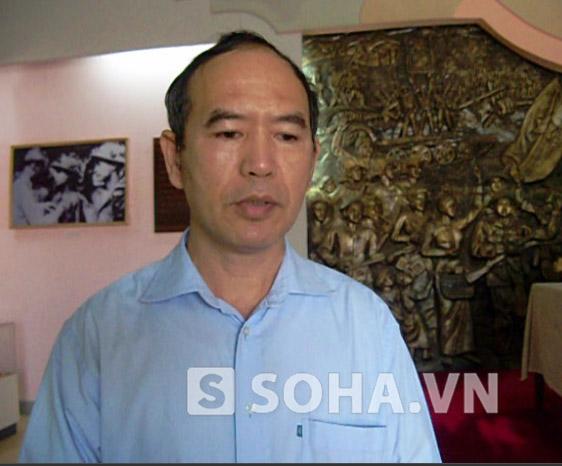 Ông Vũ Nam Hải – Giám đốc Bảo tàng Chiến thắng lịch sử Điện Biên Phủ (tỉnh Điện Biên)