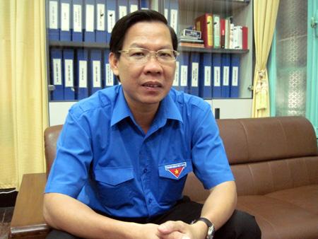 Anh Phan Văn Mãi - Bí thư Thường trực Ban chấp hành Trung ương Đoàn TNCS Hồ Chí Minh. (Ảnh: baotintuc.vn)