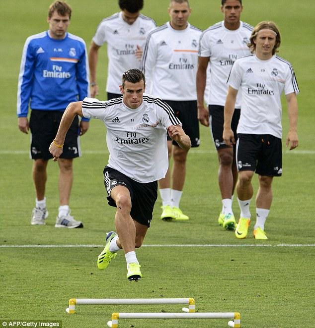 Bình phục chấn thương, Gareth Bale tập như trâu