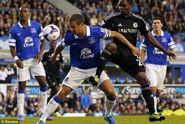 Phil Jagielk (Everton), thi đấu đủ 12 trận và là trung vệ có số pha cản phá nhiều nhất tại giải Ngoại hạng 114 lần. Cùng với đó là 6 pha cứu thua cho đội nhà.