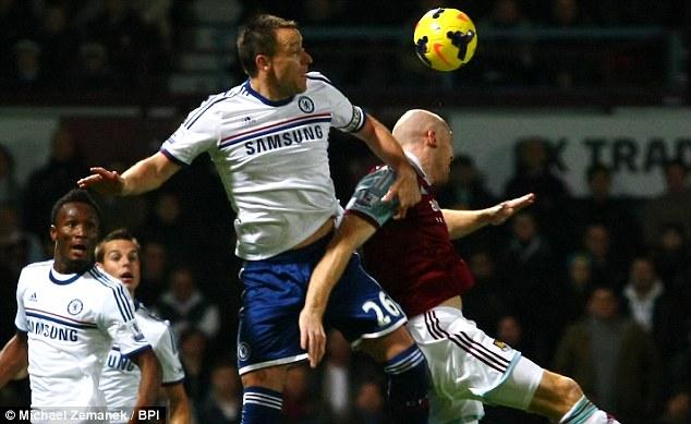 John Terry (Chelsea) thi đấu đủ 12 trận từ đầu mùa giải. Có 10 đánh đầu, nhiều hơn bất kỳ cầu thủ nào tại Chelsea. Ngoài ra, Terry có giành được 78% chiến thắng trong các cuộc đối đầu tay đôi.