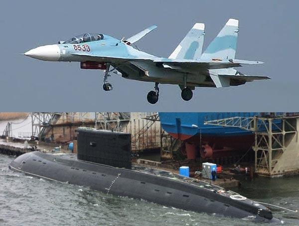 Tiêm kích Su-30MK2V có thể đảm đương nhiệm vụ cung cấp tọa độ khái lược cho tàu ngầm Kilo nạp vào tên lửa để tiêu diêt các mục tiêu ở phạm vi 200km ngoài tầm phát hiện của các hệ thống điện tử trên tàu ngầm Kilo.