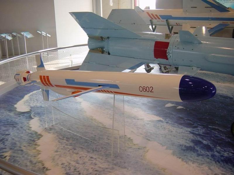 Biến thể xuất khẩu C-602 của tên lửa YJ-62