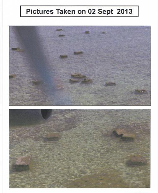 Những bức ảnh chụp các khối bê tông ở Scarborough