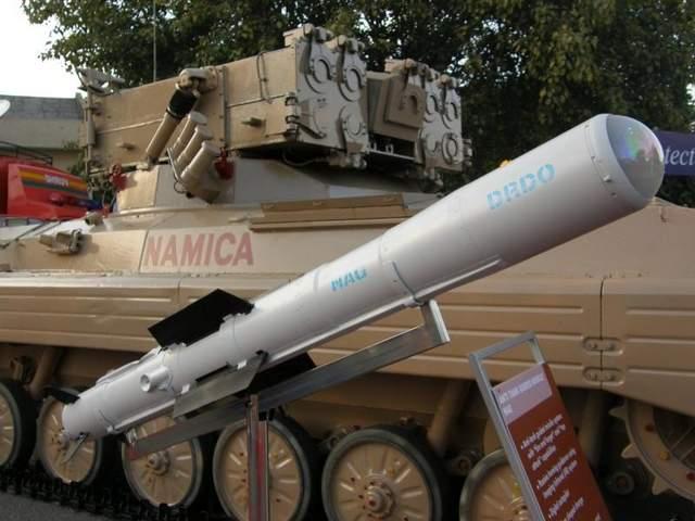 Tên lửa chống tăng Nag do Ấn Độ tự phát triển