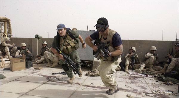 Đội quân thiện chiến của Blackwater trong một vụ tấn công ở Iraq