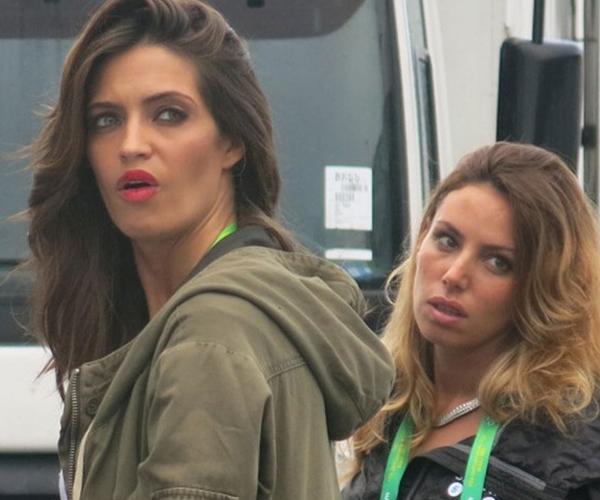 Biểu cảm gương mặt của Sara khi theo dõi bạn trai Iker Casillas thi đấu