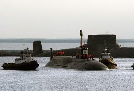 Tàu ngầm hạt nhân thuộc lớp Borey