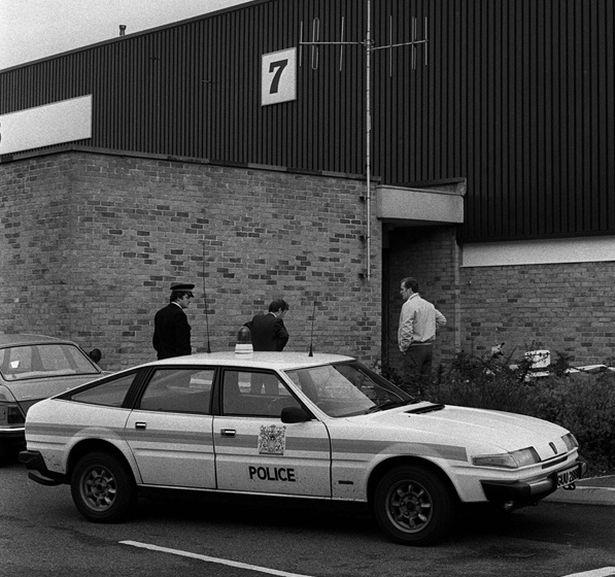 Cảnh sát xuất hiện sau khi vụ cướp táo tợn xảy ra.