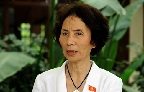 PGS, TS. Bùi Thị An - Đại biểu Quốc hội TP. Hà Nội (Ảnh: Đại đoàn kết)