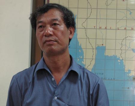 Ông Bùi Minh Tăng - Giám đốc Trung tâm Dự báo KTTVTW: