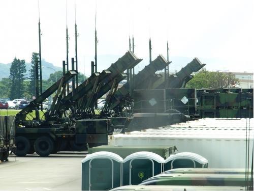 Một góc bên trong căn cứ quân sự Mỹ ở Okinawa