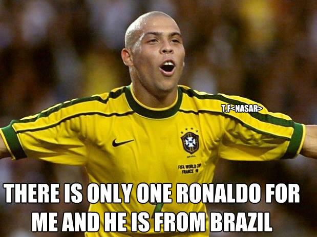 Chỉ có anh ấy mới là Ronaldo đích thực thôi!
