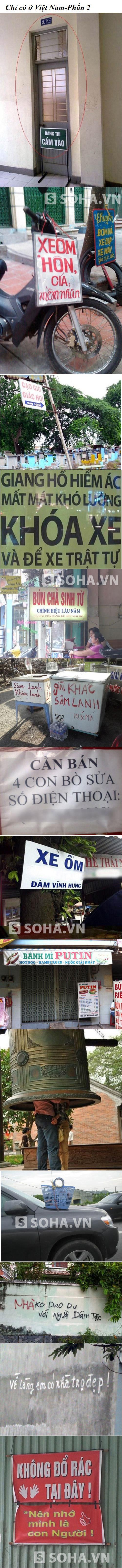 Hình ảnh chỉ có ở Việt Nam-Phần 2