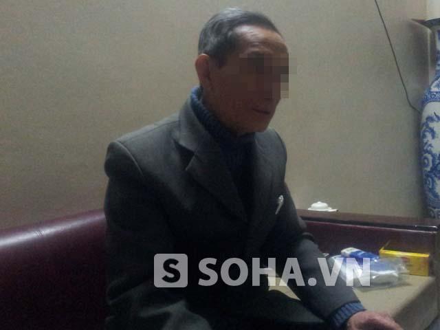 Ông Phạm Ngọc C. (bố chị Ngọc) trong vụ tin đồn kiểu nữ Hải Dương cưỡng dâm tài xế taxi gây xôn xao tại TP. Hải Dương.