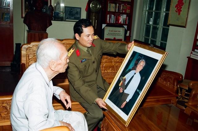 Những hình ảnh Đại tướng Võ Nguyên Giáp trước khi từ trần.