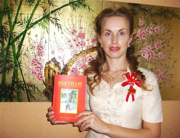 Tiến sĩ Daria Mishukova - Tiến sĩ Việt Nam học người Nga