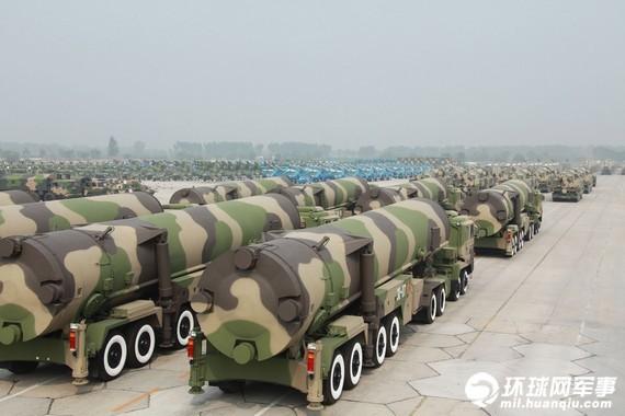 Kho vũ khí hạt nhân khổng lồ của Trung Quốc