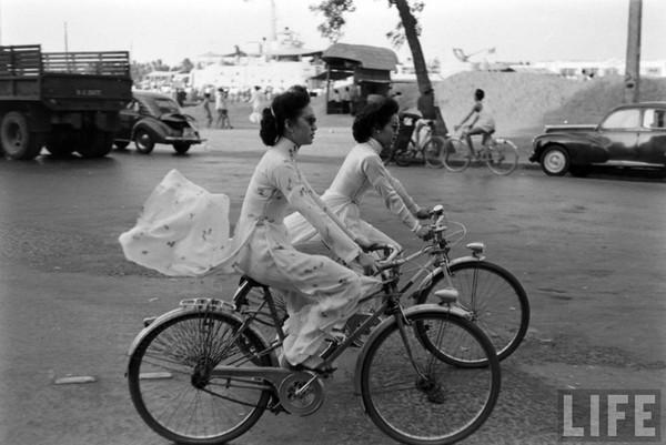 Hình ảnh đặc trưng của những năm 1960.