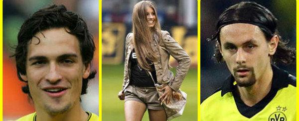 Dortmund đang náo loạn vì chuyện tình tay ba giữa Mats Hummels và Neven Subotic với người đẹp Cathy Fischer