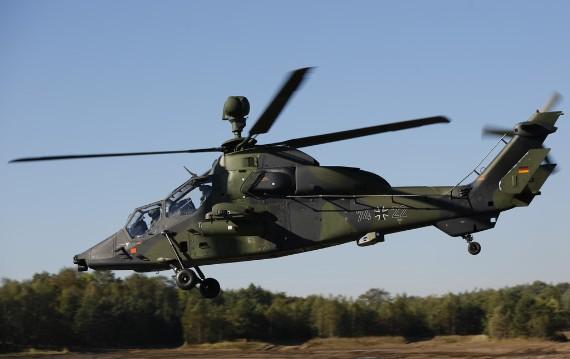 Trực thăng Eurocopter Tiger.