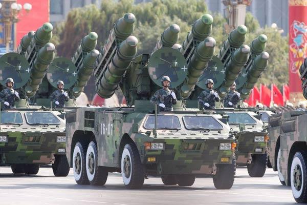 Trung Quốc biểu dương lực lượng trong một cuộc duyệt binh (Ảnh minh họa).