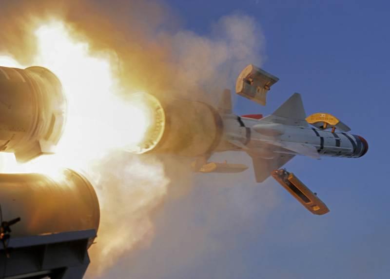 Tên lửa hành trình chống tàu MM40 Exocet