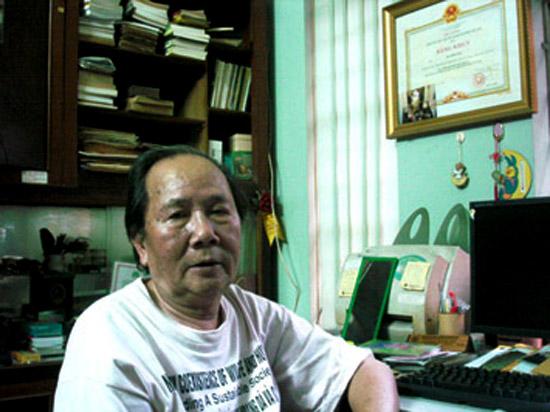 GS.Hà Đình Đức là chuyên gia nghiên cứu về rùa hàng đầu của Việt Nam hiện nay.
