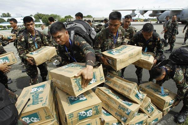 Là nền kinh tế lớn thứ 2 thế giới nhưng Trung Quốc chỉ cam kết viện trợ cho Philippine số tiền chỉ 100.000 USD. Ảnh minh họa