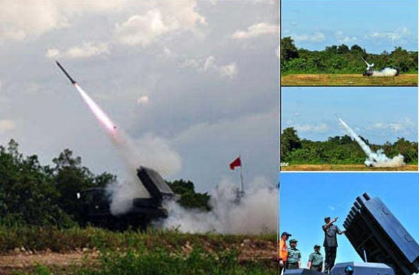 Indonesia đã trở thành quốc gia ĐNA đầu tiên phát triển thành công pháo phản lực bắn loạt.