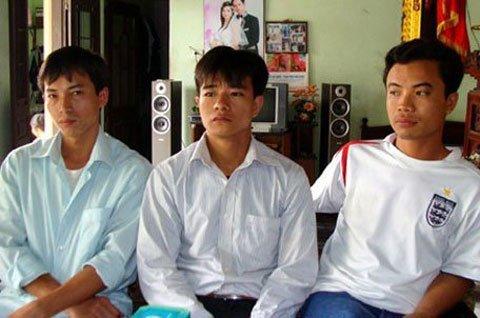 3 thanh niên mang án hiếp dâm (Ảnh: VTC)