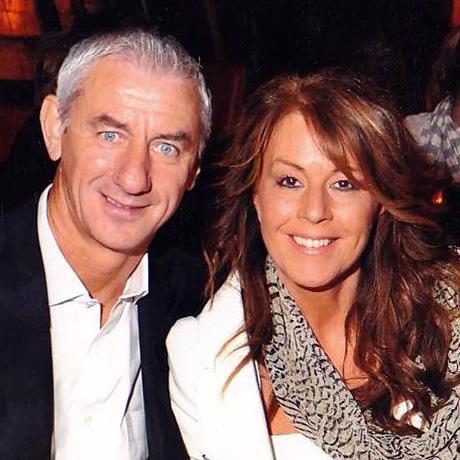 Vợ chồng Ian Rush