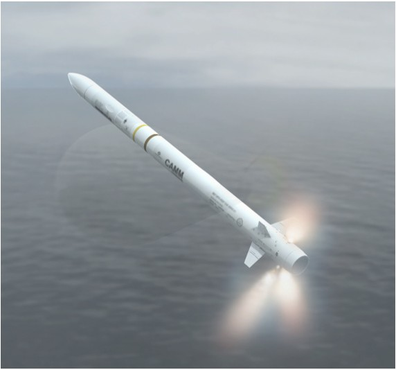 Tên lửa Exocet SM39 phóng đi từ tàu ngầm lớp Scorpene của Malaysia trong một cuộc tập trận.