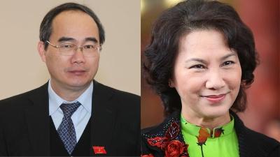 Ông Nguyễn Thiện Nhân và bà Nguyễn Thị Kim Ngân.