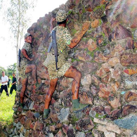 Vượt tường chắn