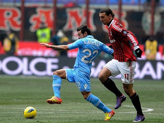AC Milan vs Napoli: Phía trước là bầu trời