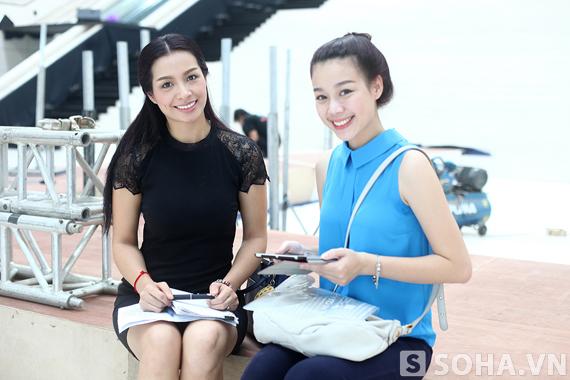 Hiện nay Tùng Lan đang là trợ lý đắc lực của cựu người mẫu Thuý Hằng.
