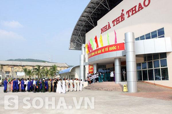 Nơi diễn ra Đại hội TDTT tại thành phố Hạ Long.