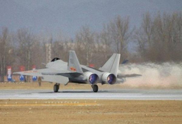 J-18 được cho là đã tiến hành các thử nghiệm bí mật tại sân bay ở Nội Mông.