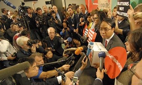 Trưởng đoàn đàm phán Philippines Yeb Sano